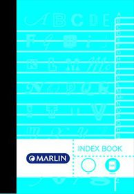 Marlin 144 Page A6 Memo Index Book (10 Pack)