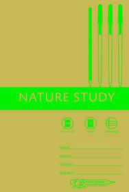 Freedom Stationery 72 Page A4 I&M Nature Study Book (20 Pack)