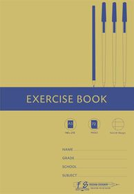 Freedom Stationery 72 Page A5 F&M Exercise Book (20 Pack)