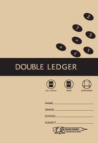 Freedom Stationery 72 Page A4 Double Ledger (20 Pack)