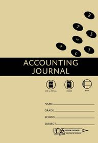 Freedom Stationery 72 Page A4 8MC Accounting Journal (20 Pack)