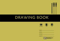 Freedom Stationery 24 Page A4L Drawing Book - Tissue