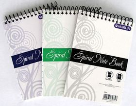 Marlin A7 72 Page Spiral Note Book (Single Book)