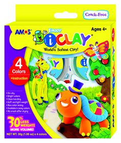 Amos iClay 4 Colours