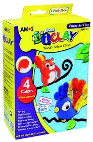 Amos iClay Fuzzy Art Kit