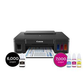 Canon PIXMA G1400 A4 Single Function Refillable Ink Tank Printer
