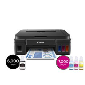Canon PIXMA G2400 A4 3-in-1 Multifunction Refillable Ink Tank Printer
