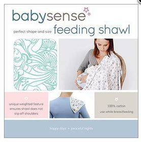 Baby Sense - Feeding Shawl - Blue