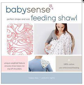 Baby Sense - Feeding Shawl - Pink