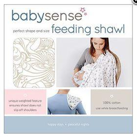 Baby Sense - Feeding Shawl - Neutral