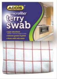 Addis - Microfiber Check Terry Towel Swab