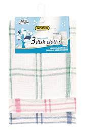 Addis - Honeycomb Dish Cloth - 3 Pack