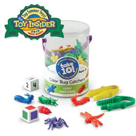 Learning Resources Take 10 Games Colour Bug Catchers