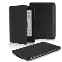 Kindle Paperwhite Case, Premium Thinnest & Lightest Leather Cover - Black (parallel import)