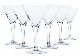Crystalite Bohemia - 240ml Thun Martini Glass - Set Of 6