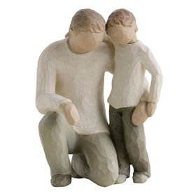 Willow Tree - Figure Father and Son