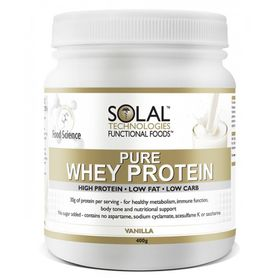 Solal Pure Whey Pro Concent-Vanilla - 400g