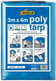 Shield - Poly Tarp 3 x 4m