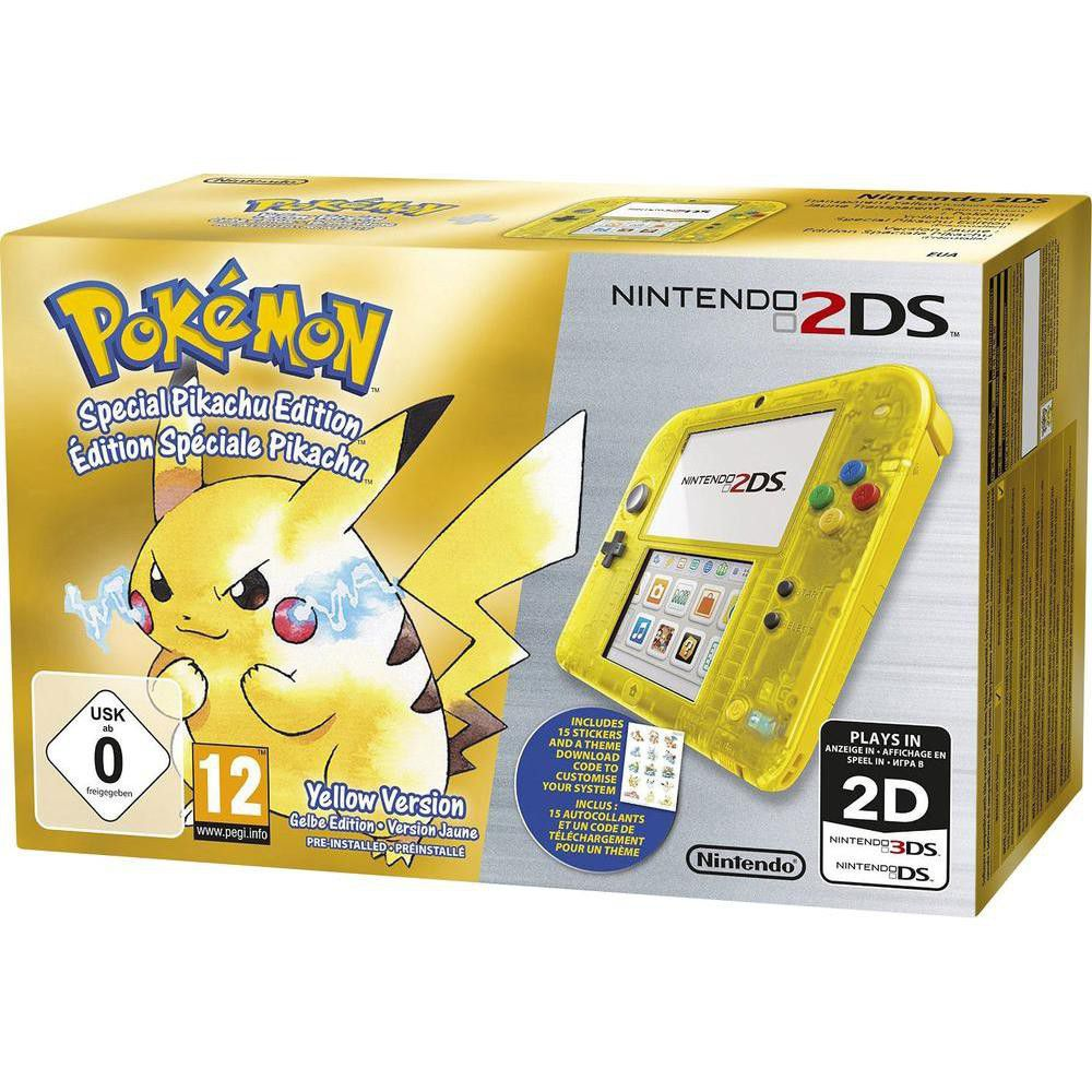 2ds console transparent yellow pokemon yellow pre installed 2ds console transparent yellow pokemon yellow pre installed limited 2ds buy online in south africa takealot publicscrutiny Image collections