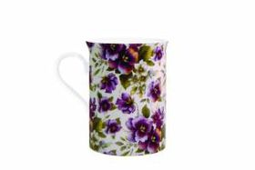 Maxwell and Williams - White Pansy Mug