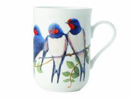 Maxwell and Williams - Birds Of The World Mug - Swallow