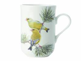 Maxwell and Williams - Birds Of The World Mug - Finches