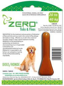Efekto -  Zero Ticks & Fleas For Large Dogs - 2.68ml