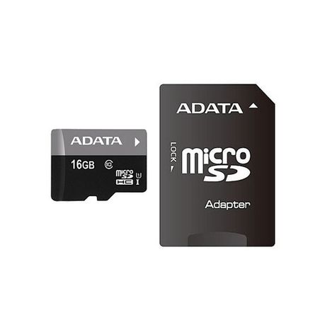 7e74b53a3 Adata Premier 16GB Class 10 Micro SDHC and SD Adapter