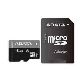 Adata 16GB Micro SDHC UHS-I U1 and SD Adapter