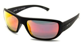 Polarized Glider Bravado Sunglasses - Red Mirror