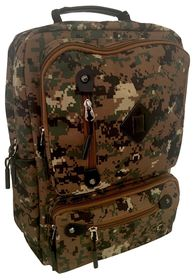 Edison Camo School Backpack - Green Camo