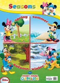 Butterfly Wallchart - Mickey Mouse Seasons