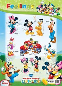 Butterfly Wallchart - Mickey Mouse Feelings