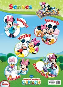 Butterfly Wallchart - Mickey Mouse Senses