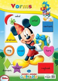 Butterfly Wallchart - Mickey Mouse Vorms