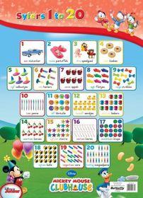 Butterfly Wallchart - Mickey Mouse Syfers 1 - 20