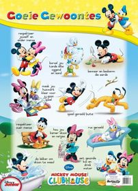 Butterfly Wallchart - Mickey Mouse Goeie Gewoontes