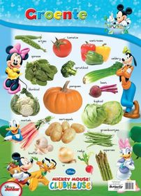 Butterfly Wallchart - Mickey Mouse Groente