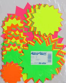 Message Makers Assorted Card Stars - 50's
