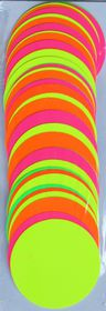Message Makers Assorted Card Circles (57mm)  - 50's