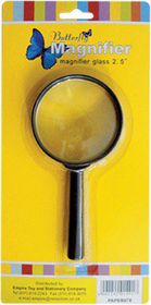 Butterfly Magnifying Glass 2.5""