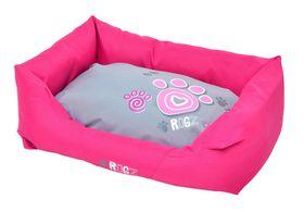 Rogz - Spice Podz Dog Bed - Large - Pink Paw Design