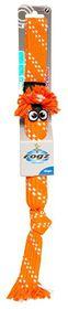 Rogz - Scrubz Teeth Cleaning Dog Toy - Medium 44cm - Orange