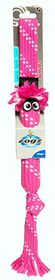 Rogz - Scrubz Medium 44cm Oral Care Dog Toy - Pink