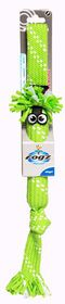 Rogz - Scrubz 440mm Oral Care Dog Toy - Lime