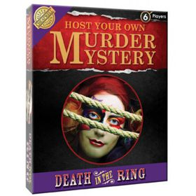 Murder Mystery Death In Ring