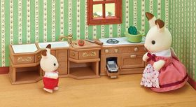 Sylvanian Families Kitchen Stove & Sink