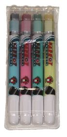 Parrot Highlighter Crayon Markers - Pouch of 4