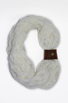 Vine Accessories Wool Snoods Double - White