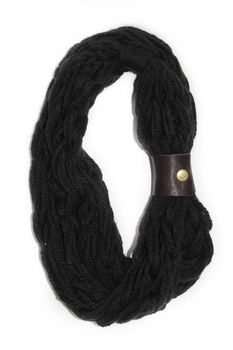 Vine Accessories Wool Snoods Double - Black